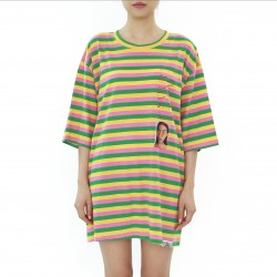 Chottomade Dominica Striped Photo printing Top