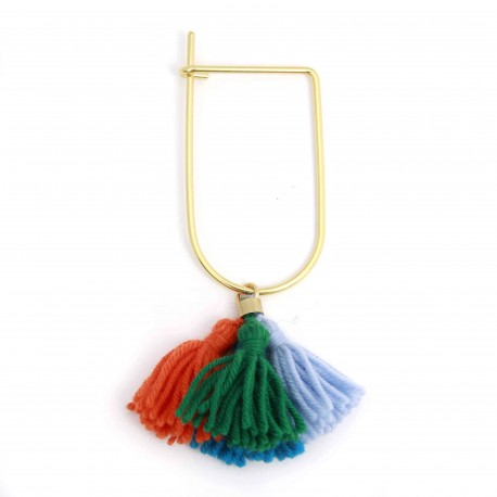 Monday Edition Wool Tassel Bangle