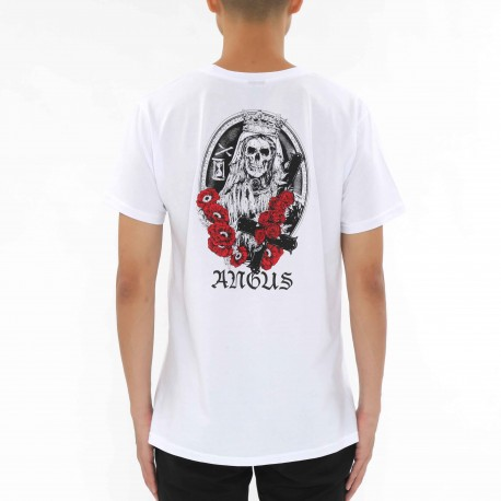 Angus Rose Skull Bride T-shirt