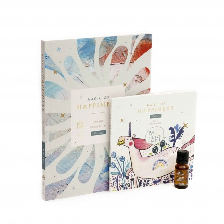 DK Aromatherapy Magic of Happiness + Happy Blend Pure Essential Oil  Set