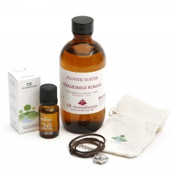 DK Aromatherapy Essential Oil, Flower Water and Star Necklace Set