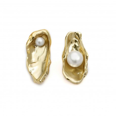 Vi.Ve Pearl Shell Earrings