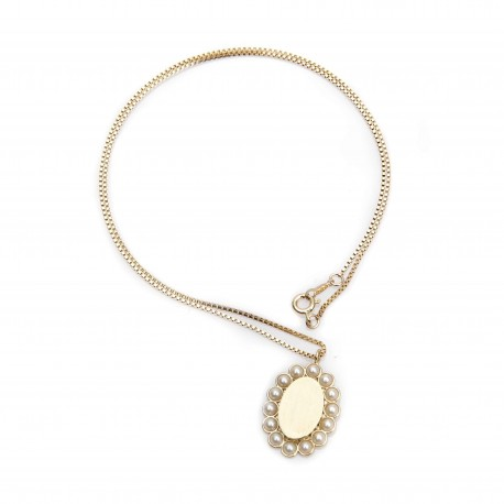 Vi.Ve Pearl Flower Necklace